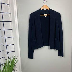 Reiss Navy Blue Cardigan
